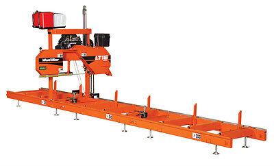 Wood-mizer Lt15 Portable Sawmill - 10hp 230v 3ph Wpower Feed 15-10 Blades