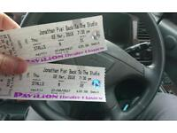 Jonathan Pie Glasgow Tickets x5
