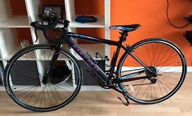 Hardly used 43cm Carrera road bike