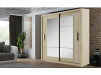 BRAND NEW 2 OR 3 DOOR SLIDING WARDROBE WITH FULL MIRRORS