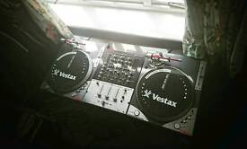 Vestax PDX-A2s Battle Scratch Turntables & Vestax PMC-37 Pro Mixer (Rare gear)