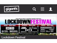 Lockdown festival tickets x2