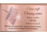 Clean craft cleaning business