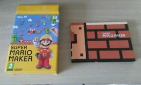 Super Mario Maker Art Book and Empty Box only