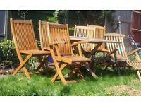 6 Seater Garden Set