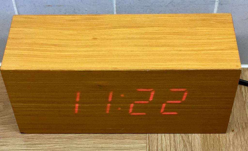 Alarm Clock Retro Vintage Look Science Museum In Bournemouth