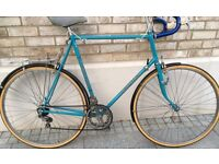 65cm Carlton Raleigh XXL Large frame road town bike 12 speed good condition bicycle with mudguards