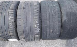 BMW X6 AND X5 SUMMER TIRES SET 315/35ZR20,275/40ZR20 BRIDGSTONE DUELER RUN FLAT USED FOR SALE