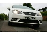 Seat ibiza 2012 used car looking fast and easy sell, hatchback 3 door