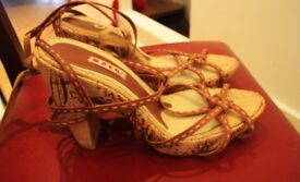 Bargain Marni Summer shoes, size 40. On sale for £140. Final Reduction