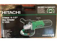 "Brand new! Hitachi G12SS 115mm / 4.5"" Angle Grinder + Diamond Blade & Case 240V"
