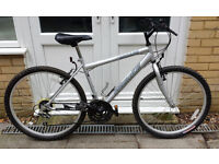 Probike Escape 18-speed mountain bike, 18in frame, very good condition.