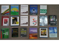 Text Books for Business Management Degree - Economics - Accounting - Marketing