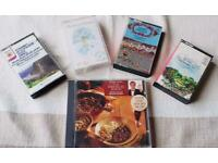 Vintage 1960/1970's Selection of 4 Classic Music Cassette Tapes & Keith Floyd Dinner Classics CD