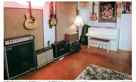 Bright creative studio/workspace/office in London Fields, perfect for music/artists/designers