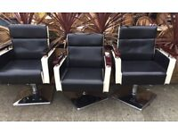 3 x Styling chairs