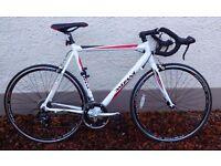 bicycle Mizani Men's Aero 300 Sports Road Bike - White, 59 cm