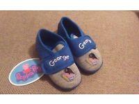 peppa pig george slippers