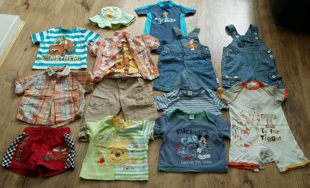 35d2034aa Baby boys summer clothing bundle age 9-12 mths