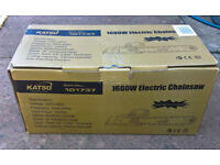 Chainsaw: KATSU 1600W 16 Inch DIY Garden Electric Chainsaw
