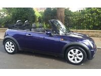 2005 MINI COOPER CONVERTIBLE LEATHER TRIM POWER ROOF SERVICE HISTORY CABRIOLET MINI COOPER ONE S