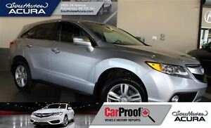 2015 Acura RDX AWD, leather, sunroof, V6 power and more!
