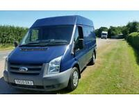 Ford transit low mileage