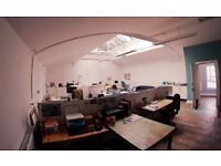 £90 all bills included!! Desk spaces available to rent in shared office in the heart of Bristol
