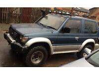 Mitsubishi pajero 2.5 auto intercooler turbo deisel not warrior discovery td4 Land Rover Range