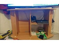 Big fish tank and stand pictures