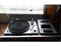 Toshiba stereo sm-3150. Turntable/vinyl/tape/radio/retro. Aprox 1970's model. Collectors item