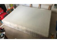 Divan bed base and head board - FREE