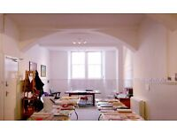 OFFICE IN CENTRAL EDINBURGH - BRIGHT AND CHARACTERFUL STUDIO SPACE TO SHARE