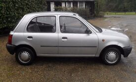 NISSAN MICRA CLASSIC AUTOMATIC 5DOOR LOW MILEAGE ONLY 60K CLEAN CAR DRIVES LOVELY