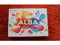 BRAND NEW -used once, complete with box- Alba 19 Inch HD Ready LED TV/DVD Combi £80 O.N.O