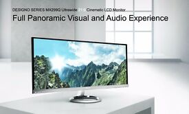 Amzazing ASUS Designo MX299Q Monitor - 29'' 21:9 Ultra-wide QHD, Audio by Bang & Olufsen ICEpower®