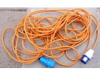 heavy duty hook up cable.  Suitable for your caravan or motorhome