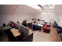 £90 all bills included!! Desk spaces available. Shared office in the heart of Bristol