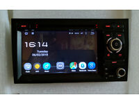 """7"""" Audi A4/S4/RS4/Seat Exeo Car Stereo/Radio/GPS/Sat Nav/Bluetooth/DVD/SD Card + CANBus Box"""