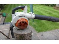 Stihl bg 85 comercial leaf blower in excellent condition recent engine rebuild