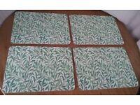 Sanderson Willow Bough Pimpernel Large Placemats/ Place mats