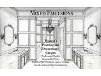 Mixed Emulsions - Women's Painting and Decorating - High Quality