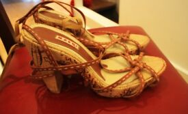 These Marni Summer shoes, size 40, were bought for £550 from Selfridges, London. On sale for £180.