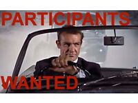 Volunteers wanted for driving simulation experiment