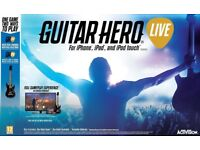 GUITAR HERO LIVE FOR iPHONE, iPAD, iPOD TOUCH (BRAND NEW & BOXED)