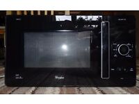 Microwave Whirlpool Gusto GT 284 B with Grill, Jet Defrost, Jet Beverage, Gratin - perfect condition