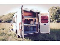 Camper Van. Extremely well thought out and Unique conversion! Comfortable and uncompromising.