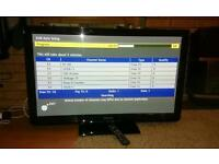 Panasonic 42 inch FullHD 600Hz tv with SD card slot and Freeview HD