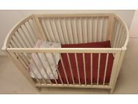 Cot bed for upto 3 years