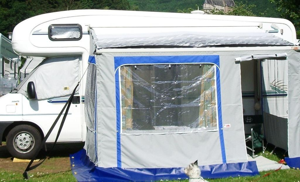 Motorhome Awning Fiamma Privacy Room 2000 Ed 03 For Wind